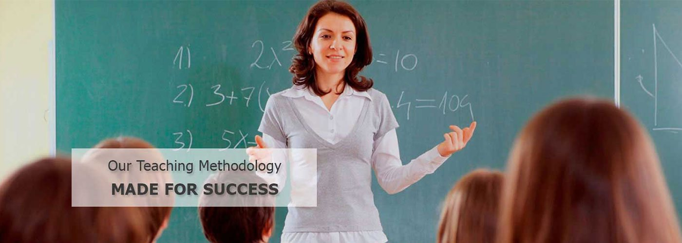 Our teaching methodology made for success